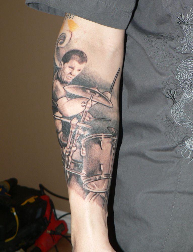 Tattoo drum enfin !